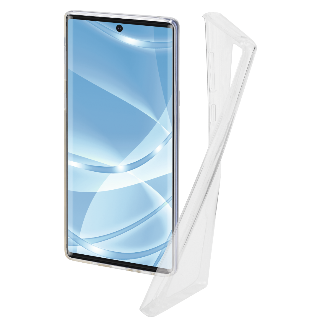 """Hama Cover """"Crystal Clear"""" për Samsung Galaxy Note 20 Ultra 5G, transparente"""